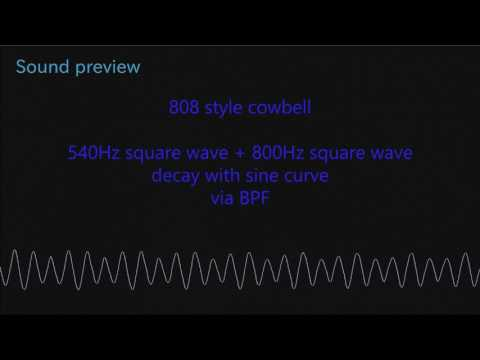 808 style cowbell