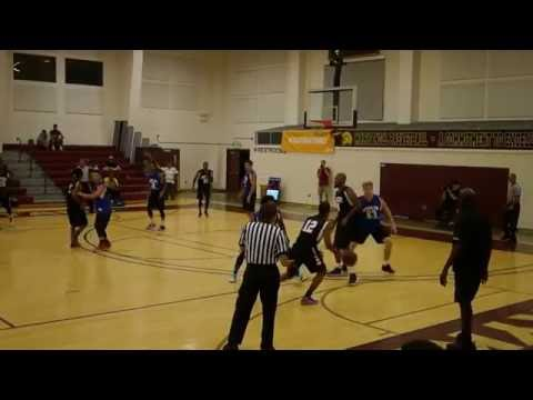 Hawaii Basketball Summer League - Grantco Pacific vs National Fire - 1st Half  7-25-16