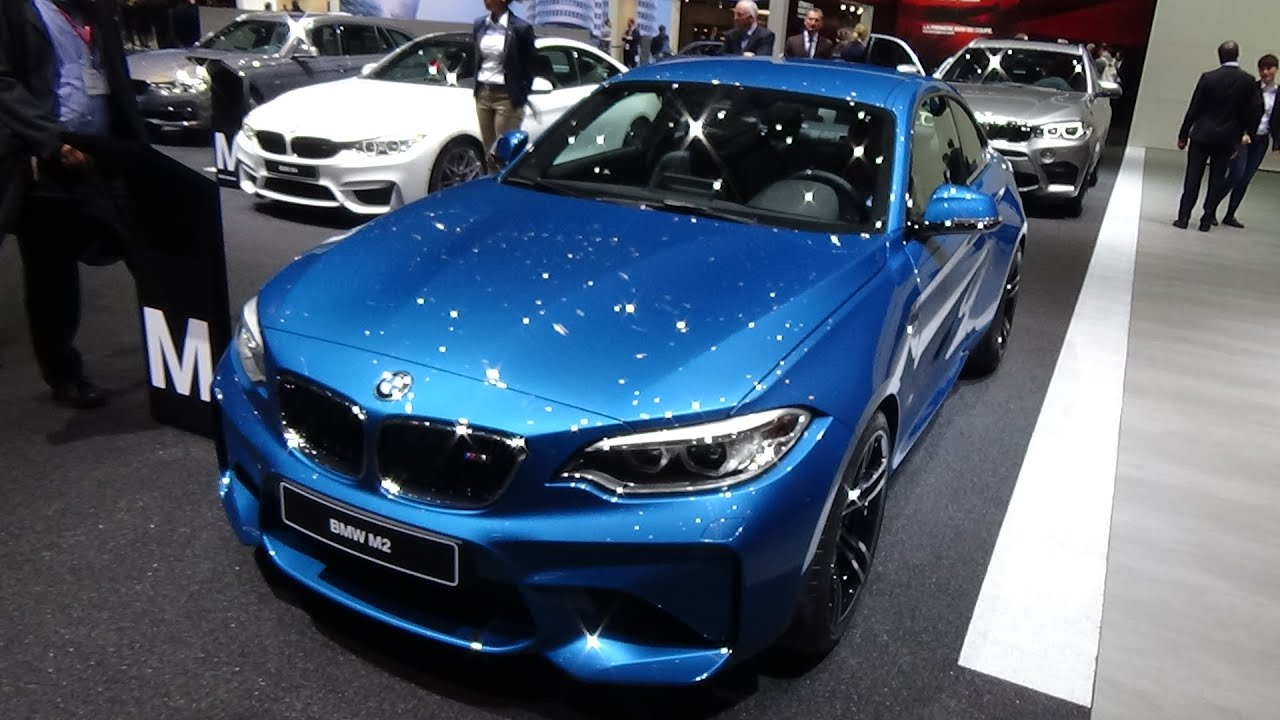2017 bmw m2 coupe exterior and interior geneva motor. Black Bedroom Furniture Sets. Home Design Ideas
