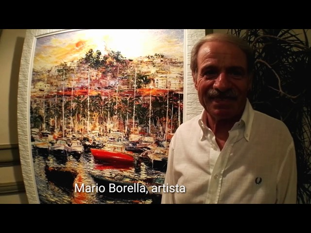 Mario Borella e i suoi paesaggi dell' anima al Casinò di Sanremo