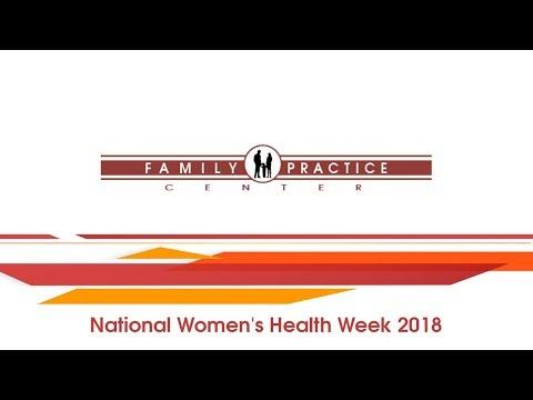 National Women's Health Week 2018