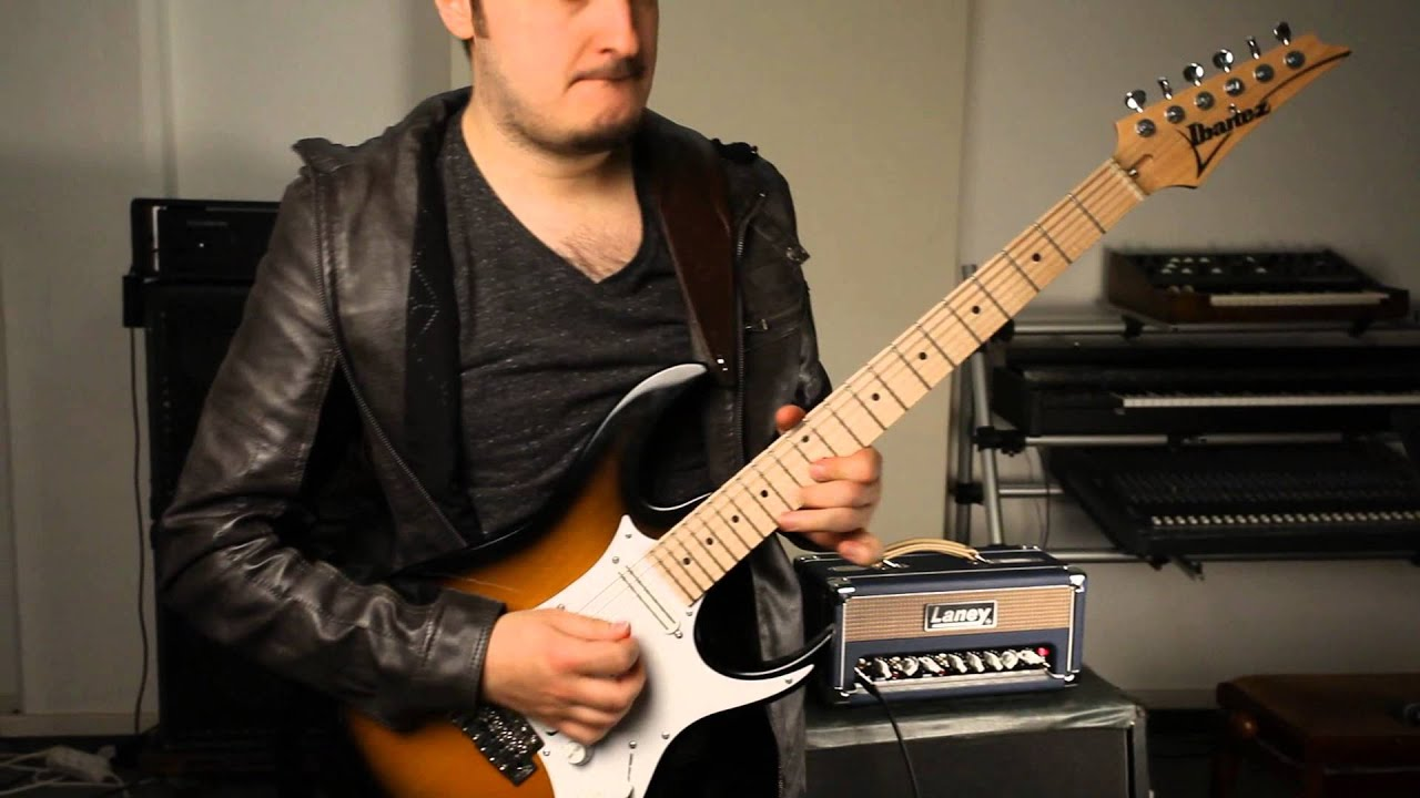 laney l5 studio ibanez at100 outtake youtube