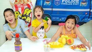 Trang oz Dùng Mắm Tôm Dạy Cô Bé Ham Ăn Không Nghe Lời - Kieu ANh Vlog