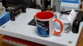 Смотреть видео печать на чашках
