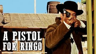 A Pistol for Ringo | WESTERN | Action Movie | English | Full Cowboy Film | Italo Western Movie