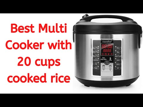 comfee'-rice-cooker,-slow-cooker,-steamer,-stewpot,-sauté-all-in-one:-best-multi-cooker