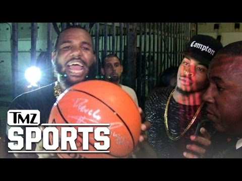 The Game -- I Dropped $40,000 On Lakers Floor Seats! | TMZ Sports