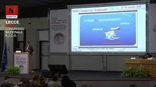 Intervento di Saverio Andreula al Congresso AICO