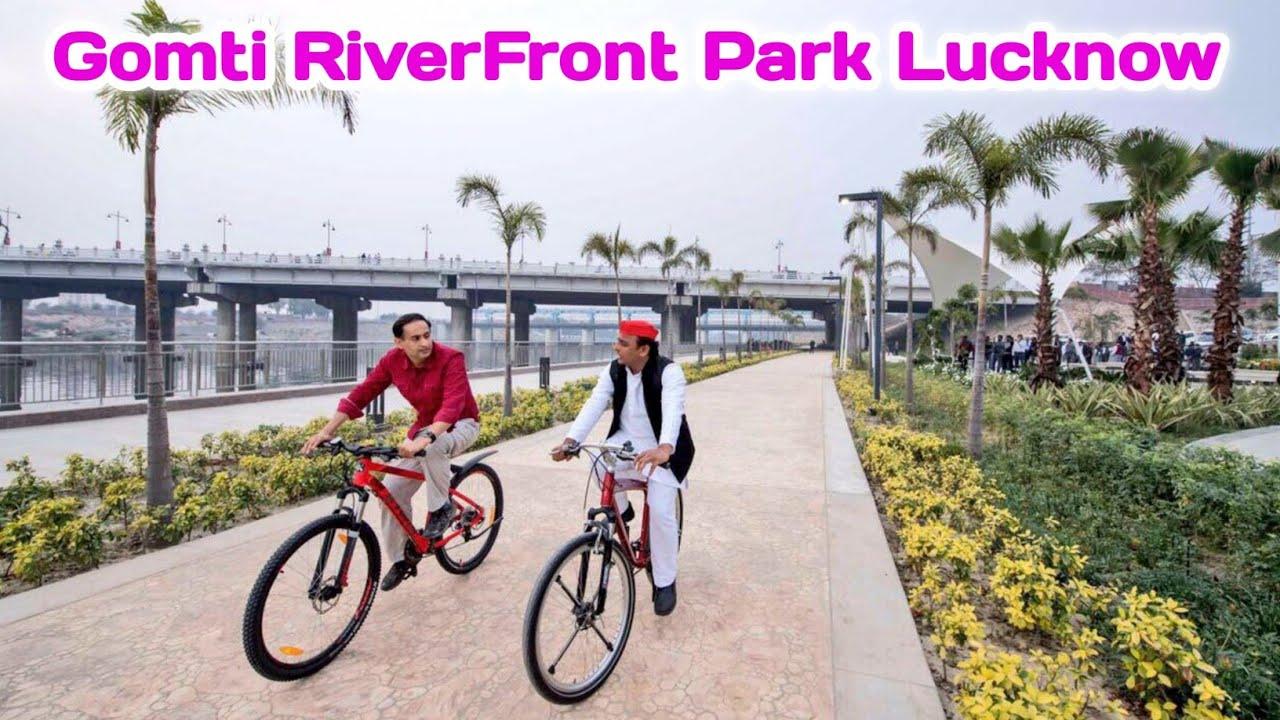 Download Gomti Riverfront Park Lucknow का सबसे खूबसूरत पार्क    Khan Youtuber   