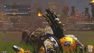 Blood Bowl 2 - Danger Zons Game 1 - Amazons vs. Chaos Dwarfs