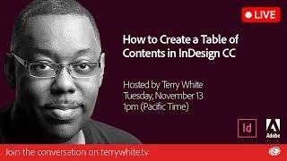 Comment Créer une Table des Matières dans Adobe InDesign CC