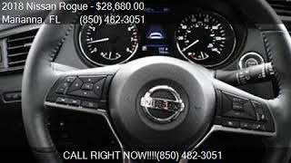 2018 Nissan Rogue SV 4dr Crossover for sale in Marianna, FL