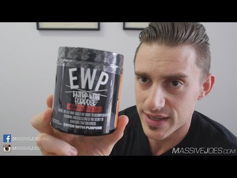 Run Everything Labs EWP Enter With Purpose Pre-Workout Supplement Review MassiveJoes.com RAW