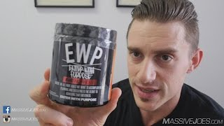 Run Everything Labs EWP Enter With Purpose Pre-Workout Supplement Review  - MassiveJoes.com RAW