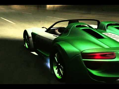 nfs underground 2 car mod porsche 918 spyder concept study. Black Bedroom Furniture Sets. Home Design Ideas