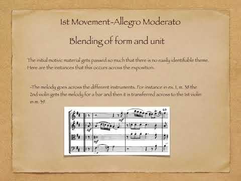 Haydn op33 Form