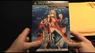 Fate/Extra Collectors Edition Unboxing and Review