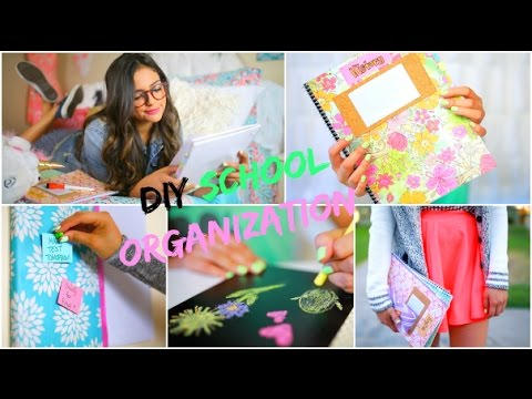 Bethany Mota Bedroom Decor Line back to school: diy organization! school supplies & room decor