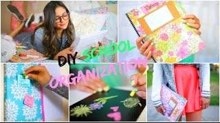 Back to School: DIY Organization! School Supplies & Room decor! Thumbnail