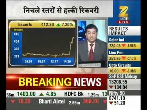 Sensex, Nifty hit two-week low on Yellen's hawkish tone; Tata Motors crashes 10%
