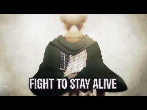 【Nightcore】→ Fight || Lyrics