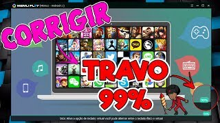 COMO CORRIGIR ERRO DO EMULADOR MEMU PLAY - TRAVA 99% EMULADOR PARA PC FRACO