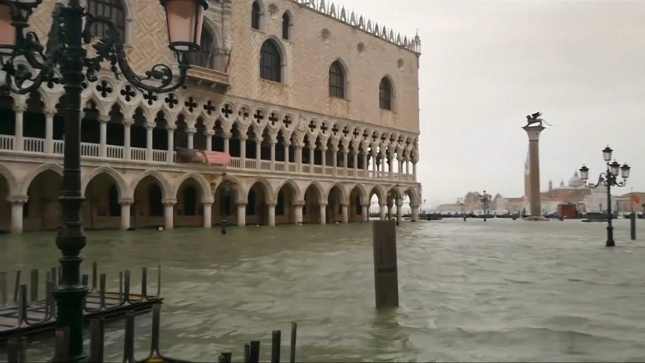 Venedig Unter Wasser