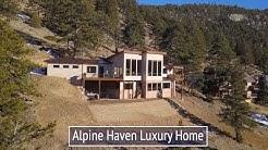 Alpine Haven at Windcliff Luxury Vacation Rental Home in Estes Park Colorado