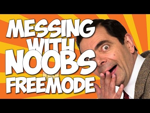 GTA Online | Messing With Noobs | Freemode Trolling #2