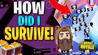 HOW DID I SURVIVE!! BIGGEST KILL WAVE EVER SEEN IN BATTLELANDS ROYALE (High Kill Gameplay)