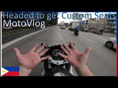 Headed to get Custom Seats MotoVlog