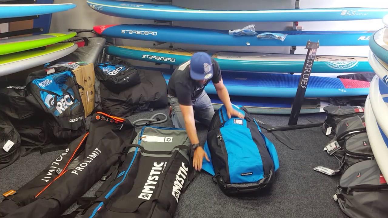 Pewter Mystic Kitesurf Star Boots Boardbag 2017
