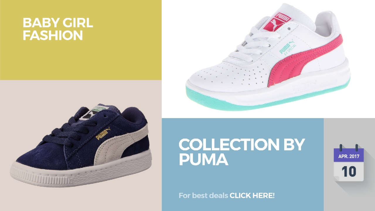 Collection By Puma Baby Girl Fashion - YouTube 8a31923f3ea8d
