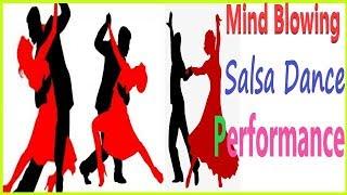 Salsa Dance Performance   Mind Blowing Dance Moves   Salsa Dance India   Couple Dance   Party Salsa