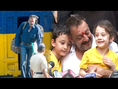 Sanjay Dutt's Journey From Jail To House - Full Video HD