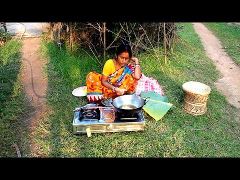 Making Delicious and Traditional Banana Pakora by my Mother | Village Food Recipes