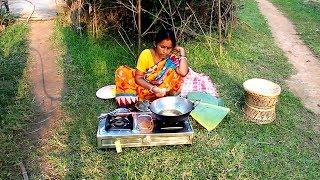 Gambar cover Making Delicious and Traditional Banana Pakora by my Mother | Village Food Recipes
