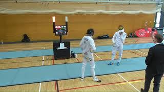 FE 2018 T08 04 M E Individual Leipzig GER NC 15 BRAUN BER vs BRINKMANN  GER