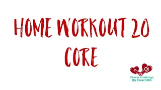 Home Workout 20: Core
