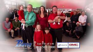 Holiday Sales Event at Boyle Buick GMC
