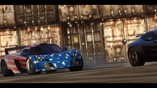 Need For Speed The Run: USA Flag Hennessey Venom GT Final Race vs Marcus (Aston Martin One-77)