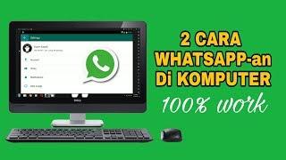 (0.07 MB) 2 Cara Menggunakan Whatsapp Di Komputer Mp3