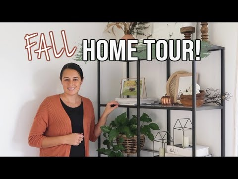 FALL HOME DECOR TOUR 2019 | Modern & Neutral Fall Decorating Ideas