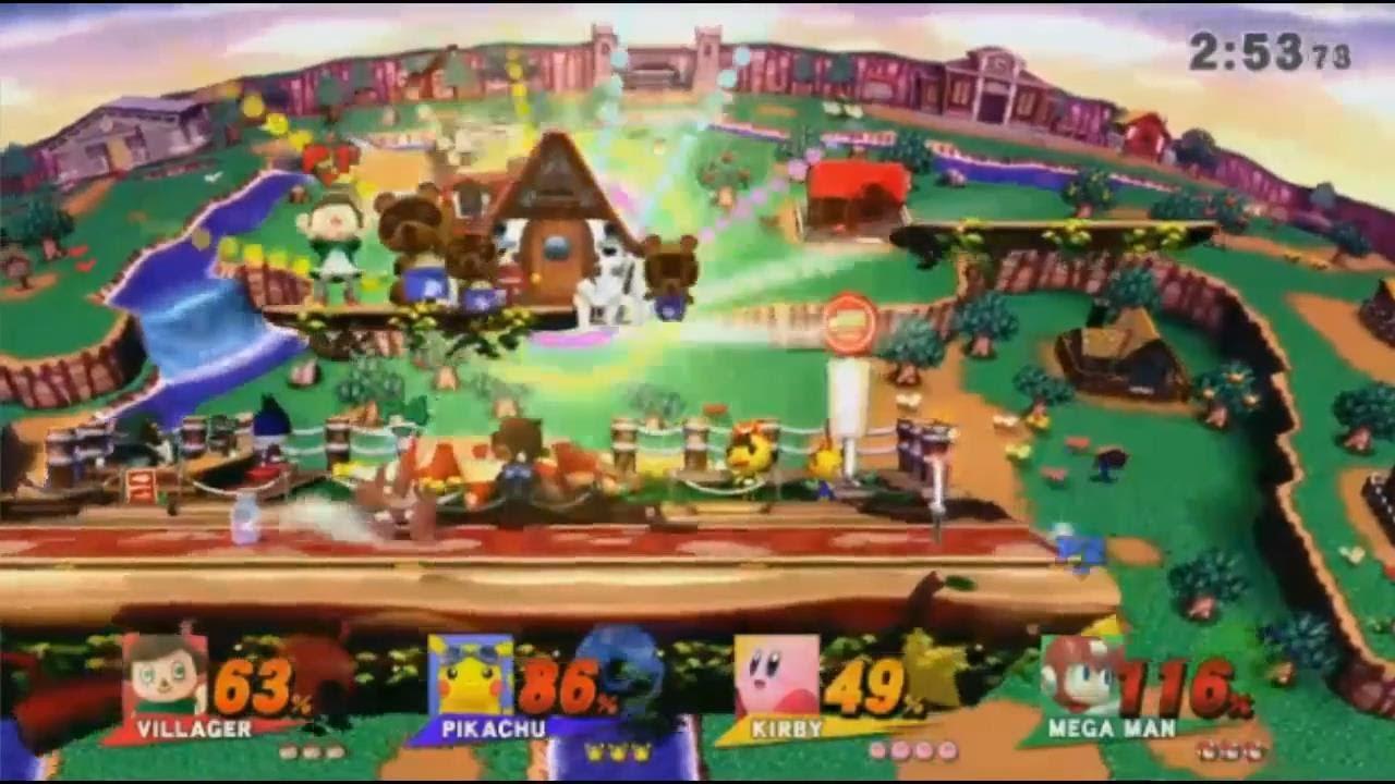 Villager's Final Smash From Super Smash Bros Wii U! - YouTube