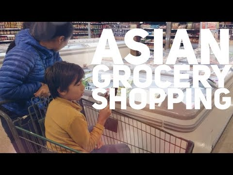 Asian Grocery Shopping
