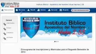 www.ibanvhechos238.com - Video Tutorial Como Registrarse en la Plataforma