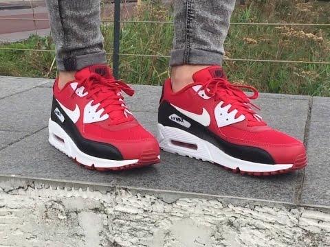 Nike Air Max 90 Red 537384-610  4d0086c29