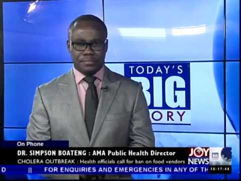 Cholera Cases Rising - Today's Big Story on Joy News (27-8-14)