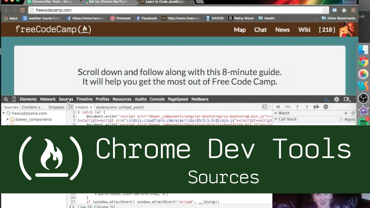 Chrome Dev Tools: Sources Tab