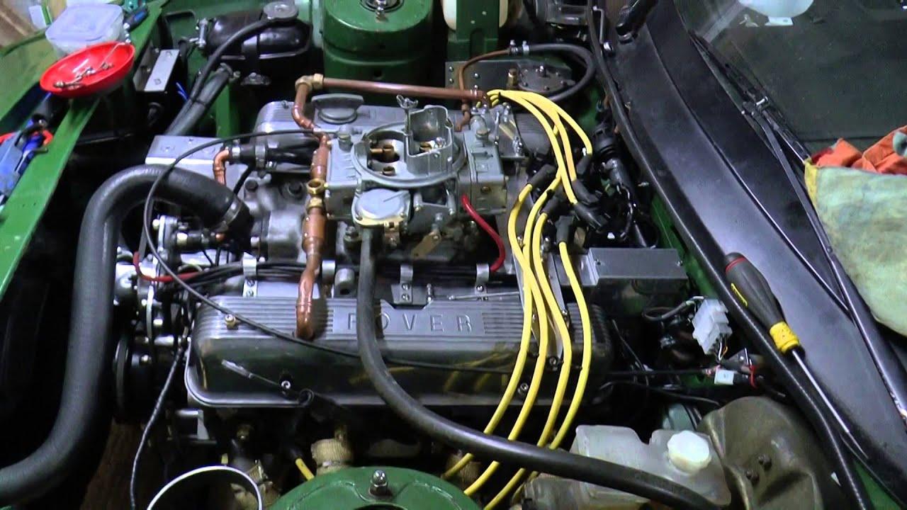 Triumph TR7 V8 modifications